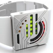 LED Watch Kisai Sensai Aluminum watch