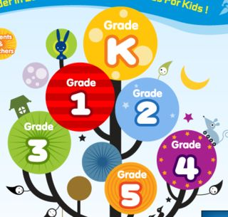 Online games and apps for each grade level
