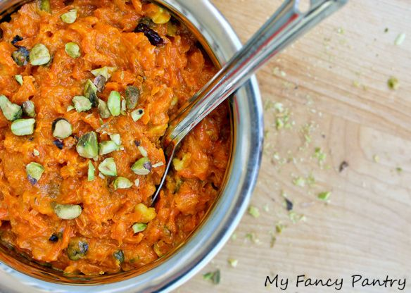style carrot halwa, indian desserts, gajar halwa, gajar ka halwa ...