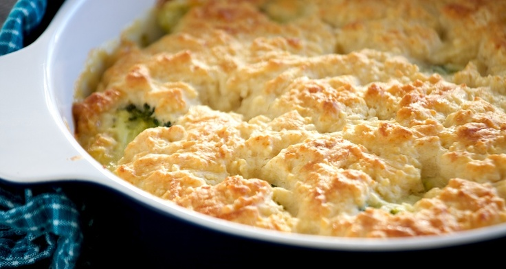 Quick & Cheesy Chicken Pot Pie | Food and Drink Ideas | Pinterest