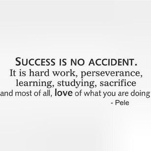 success is no accident it 39 s go time pinterest
