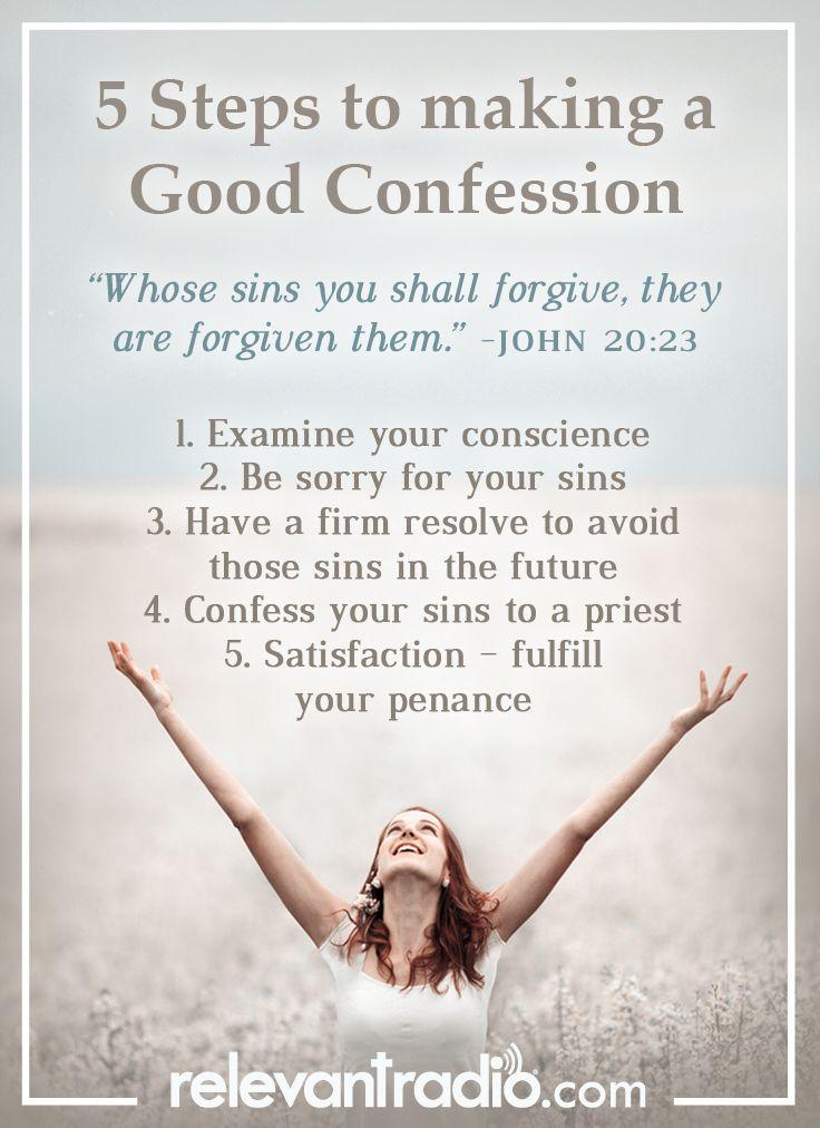 how to achieve reconciliation catholic