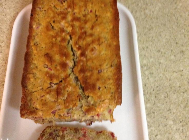 The Best Cranberry Walnut Bread | Bobbye Anne | Pinterest