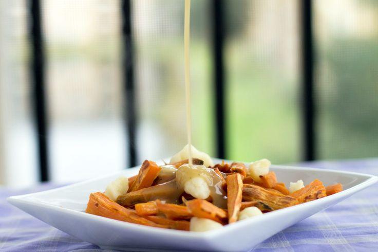 Sweet Potato Poutine | Mash them, boil them, stick em in a stew. | Pi ...