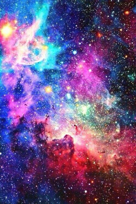 colorful galaxy art just imagine pinterest