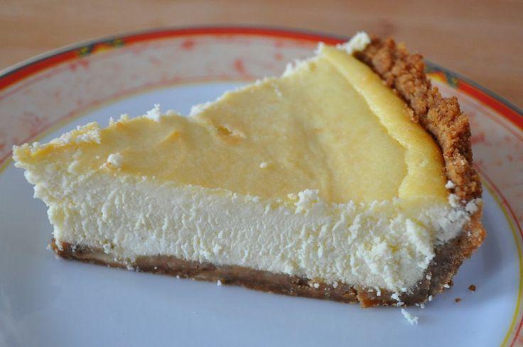 Simple Ricotta Cheesecake Recipe | YUM | Pinterest