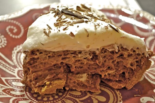 Heavenly Chocolate Pie | Dessert recipes | Pinterest