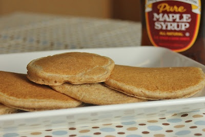 ... whole wheat apple cinnamon pancakes with cinnamon syrup whole wheat