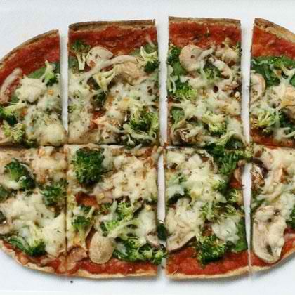 Flatbread Pizza for Dieters   Pizza Recipes and Special Flavors   Pin ...