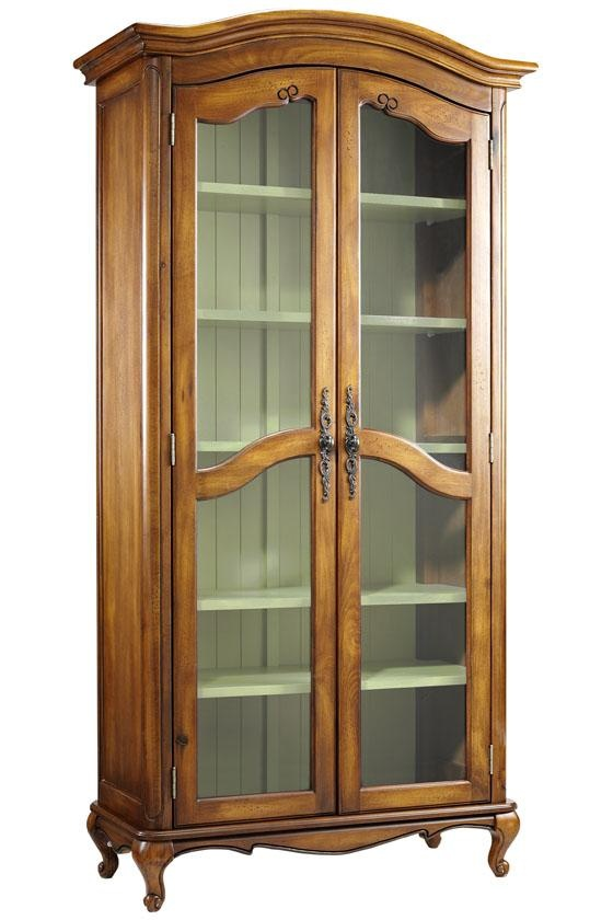 Provence Double Bookcase - Glass Door Bookcases - Bookcases ...