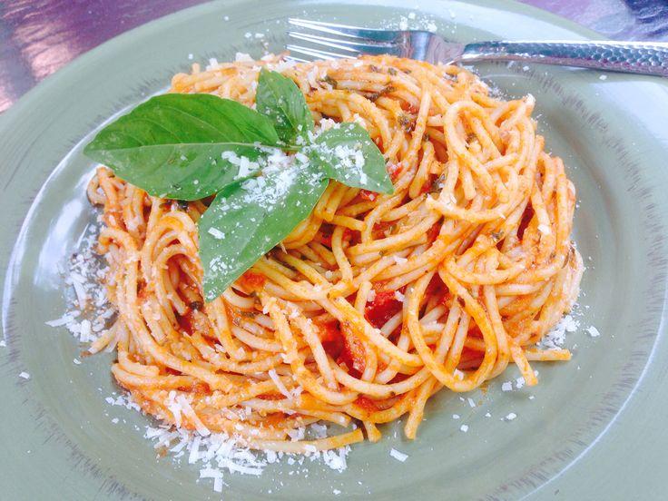 how to cook spaghetti marinara sauce