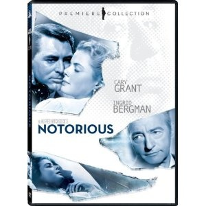 """Notorious"" starring Cary Grant, Ingrid Bergman, Claude Rains (1946)"