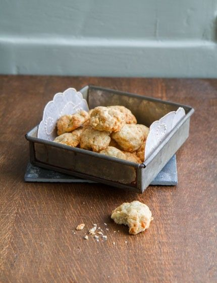 Blue Cheese Biscuits | Anne's Kitchen | English Recipes | Pinterest