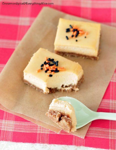 Sweet Potato Cheesecake Bars #sweetpotato