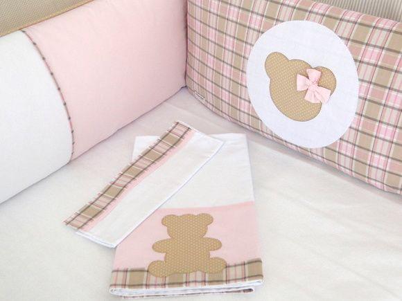 Kit Berço para decorar quarto de bebê59