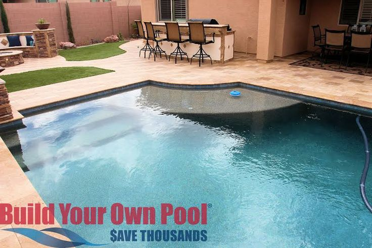 Build your own pool in arizona nardell project pinterest for Obi easy pool