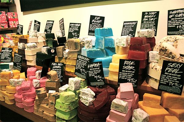 Lush luscious soaps, I will take one of everything please!