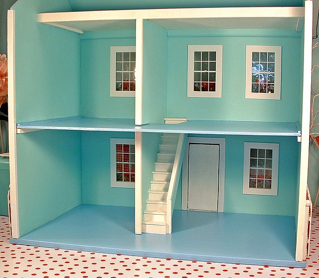 Repainted Doll House Interior Emily 39 S Christmas Present Ideas