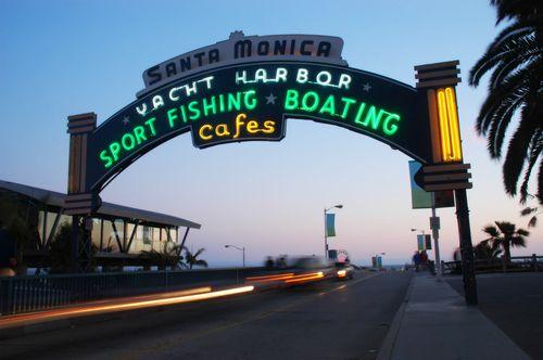 Santa Monica Pier- my favourite place on earth