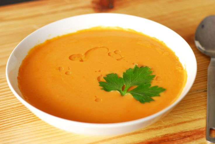 Spicy Sweet Potato Soup | soups | Pinterest