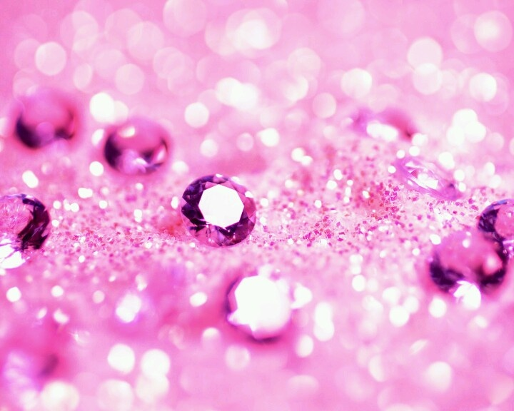 Pink sparkle wallpaper
