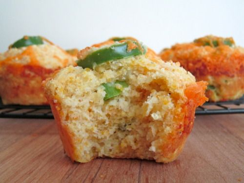 Jalapeno Cheddar Parmesan Cornbread Muffins These were just ok ...
