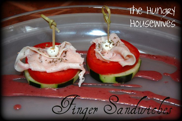 housewives blog recipe just an awesome baby shower finger sandwich
