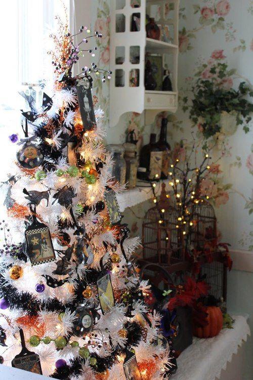 Halloween Christmas Tree Halloween Pinterest