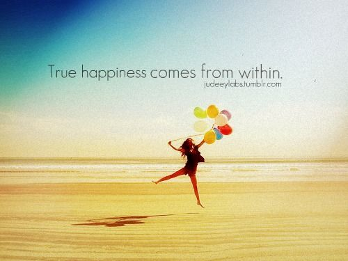 how to find true happiness within yourself