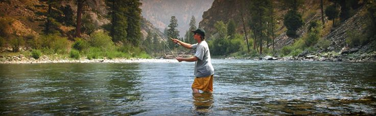 Fly Fishing Middle Fork Of The Salmon Coeurdalene Idaho