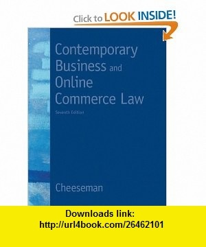 business law ch 4 The common law may be described as:  4 if a law that violates  [online quizzes and answers for business law today, seventh edition.