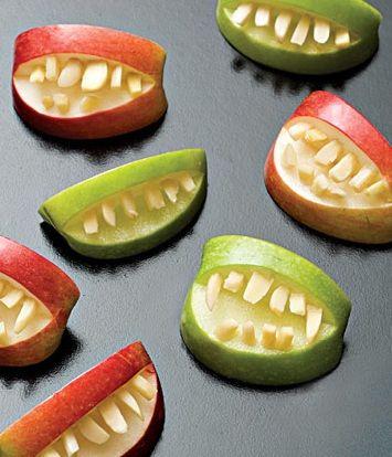 halloween healthy snacks pinterest