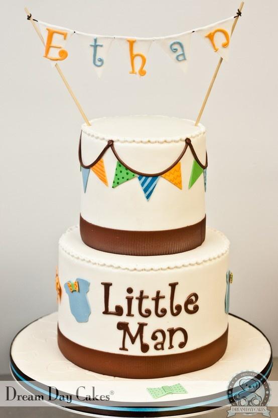 Little Man Cake  Baby Shower  Pinterest