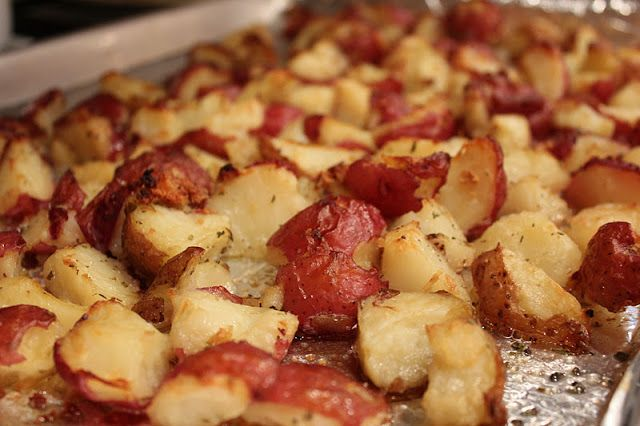 Teaspoons of Truth: Baked Red Potatoes