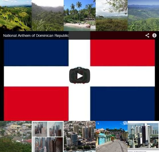 images of the dominican republic flag