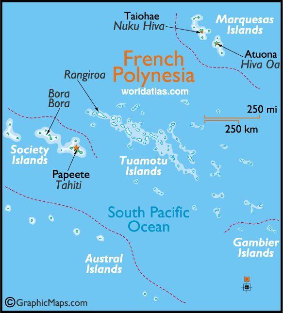 French polynesia maps pinterest for Rangiroa urlaub