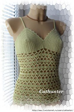 Crochet Me Free Patterns : free pattern - Media - Crochet Me CROCHET - TOPS Pinterest