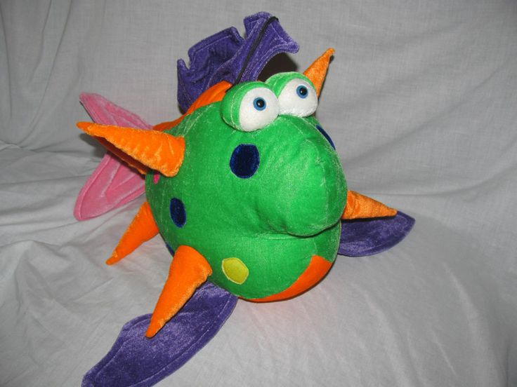 Pin by wise owl treasures on wise owl treasures pinterest for Fish stuffed animals