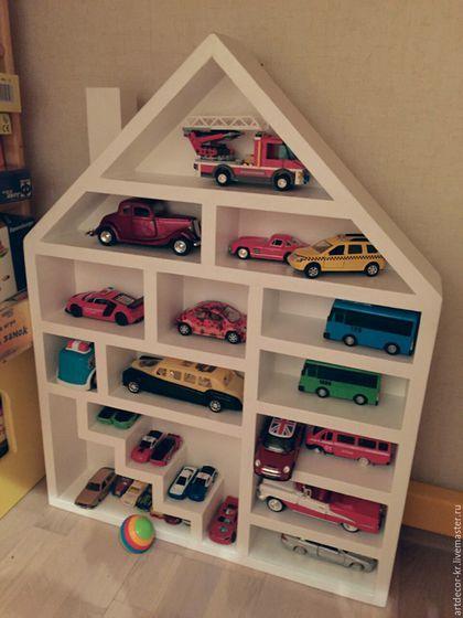 Полка гараж для машинок