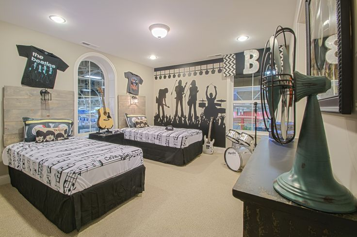 Rock Star bedroom   house   Pinterest