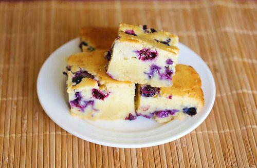 Blueberry Mochi Cake | Cakes | Pinterest