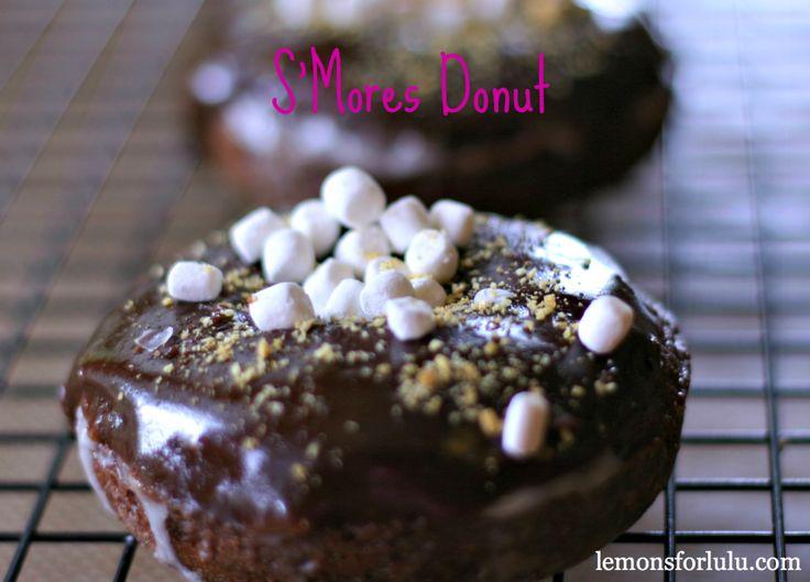S'Mores Chocolate Donut @lemonsforlulu