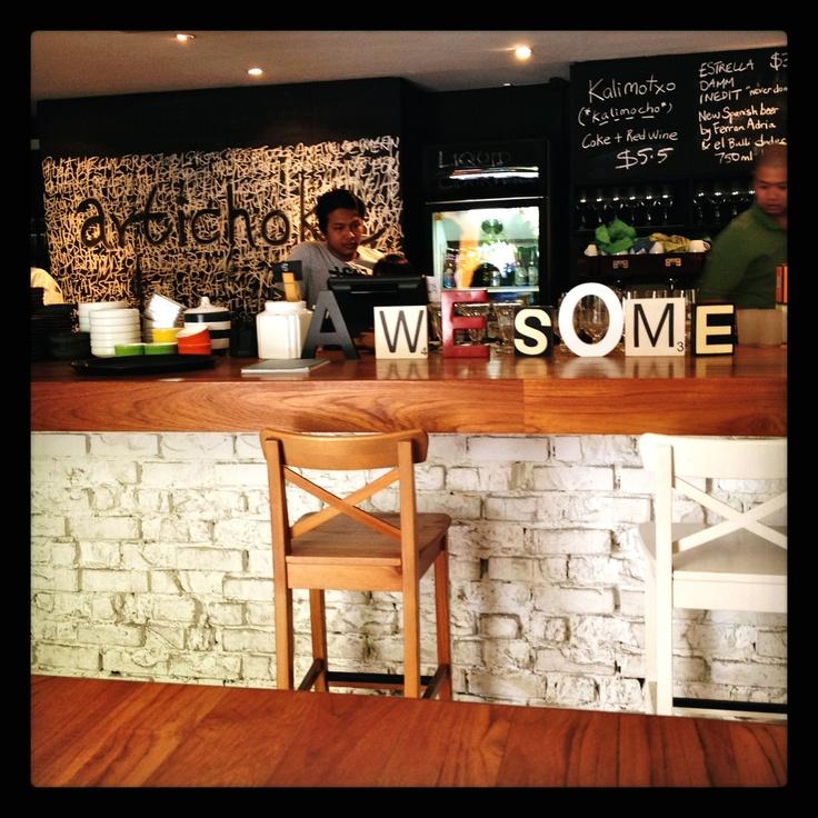 love the cafe decor! http://bit.ly/MbxK2S
