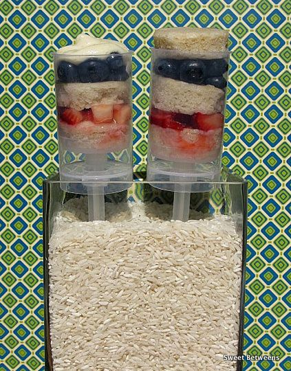 strawberry blueberry shortcake cupcake push pop