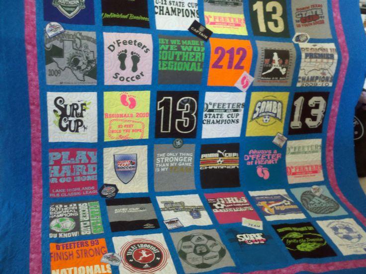 T Shirt Blankets Diy Crafts