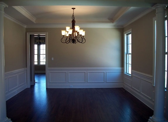 dining room wainscoting for the home pinterest