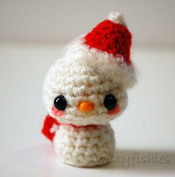 Kawaii Panda Amigurumi : Amigurumi Snowman-twistyfishies crochet & knit Pinterest