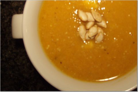 Butternut Squash & Apple Soup | Main Dishes | Pinterest