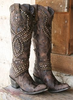 you can never have too many cowboy boots.