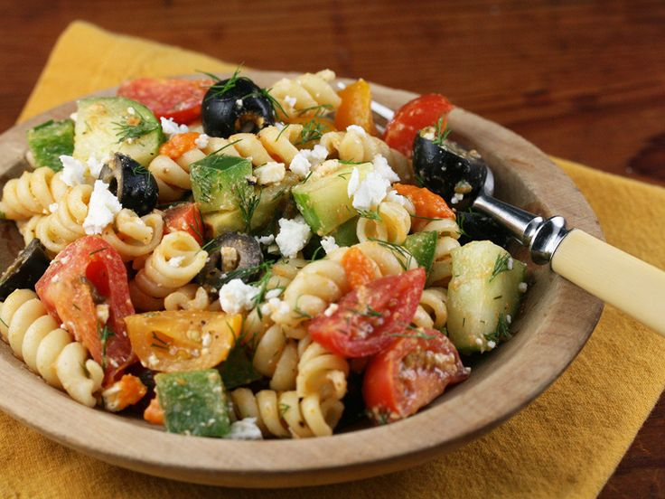 Gojee - Greek Pasta Salad with Sun-Dried Tomato Vinaigrette by The ...